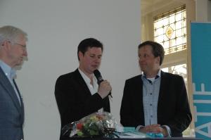 Glenn van der Burg gesprek met Alexander Pechtold en Hans Couzy