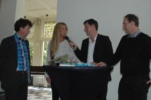 Glenn van der Burg in gesprek met Marije Koets, Salem Samhoud en Bert van Boggelen