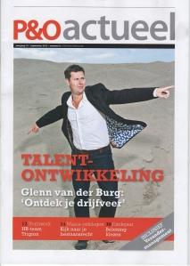 Cover P&O Actueel september 2012 Glenn van der Burg